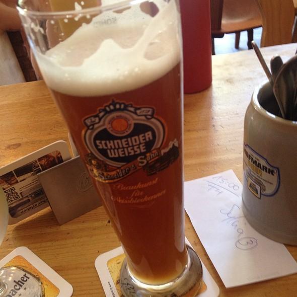 Schneider Weisse Beer