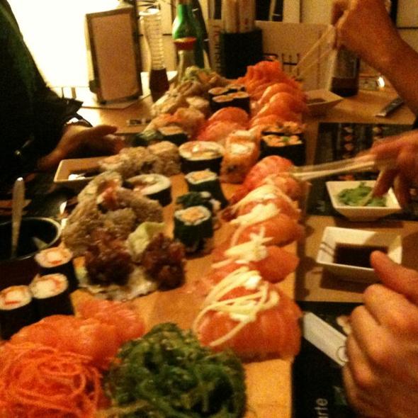 All You Can Eat Sushi @ Sushiou