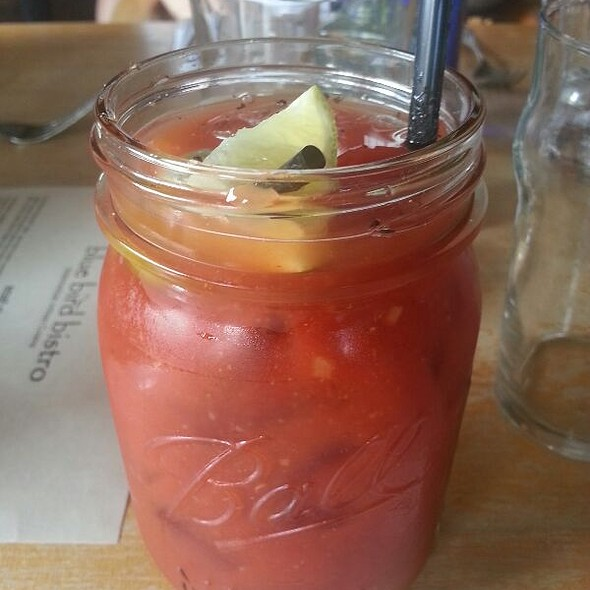 Bloody Mary @ blue bird bistro