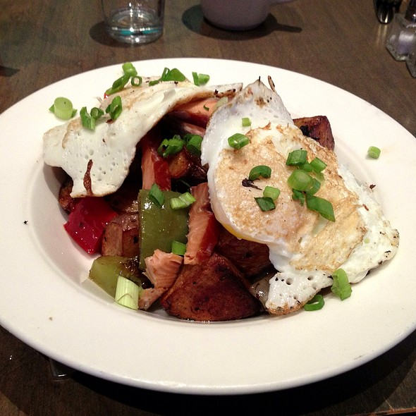 Smoked Trout Hash