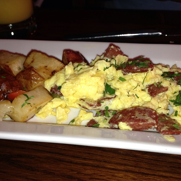 Scrambled Eggs With Sujuk - AGORA, Washington, DC