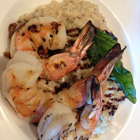 Mushroom Risotto With Shrimp - 024 Grille, Houston, TX