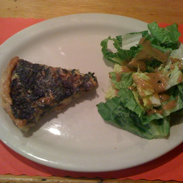 Quiche Aux Epinards @ La Creperie Cafe