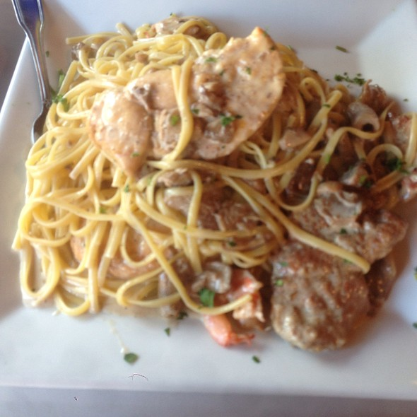 Rino's Special With Linguine @ Rino's Place