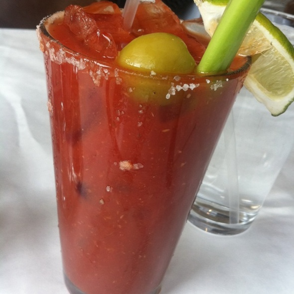 Bloody Mary @ Cafe Deluxe