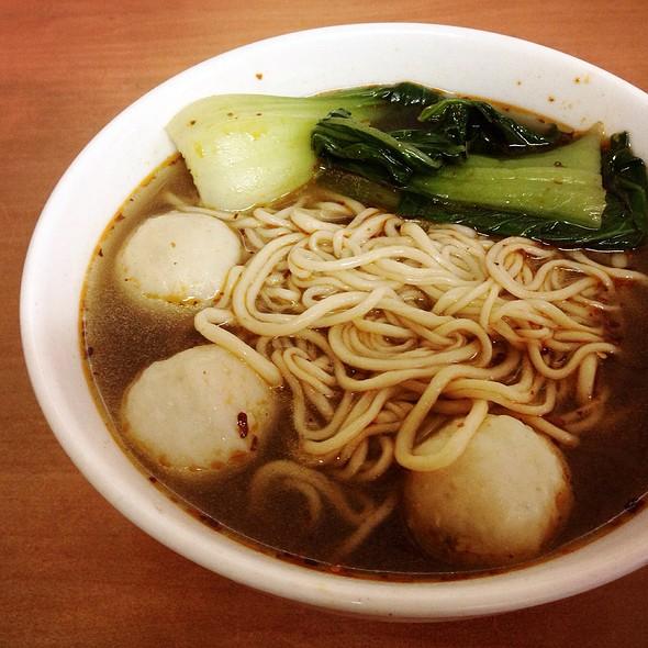 Fish Balls Noodle Soup