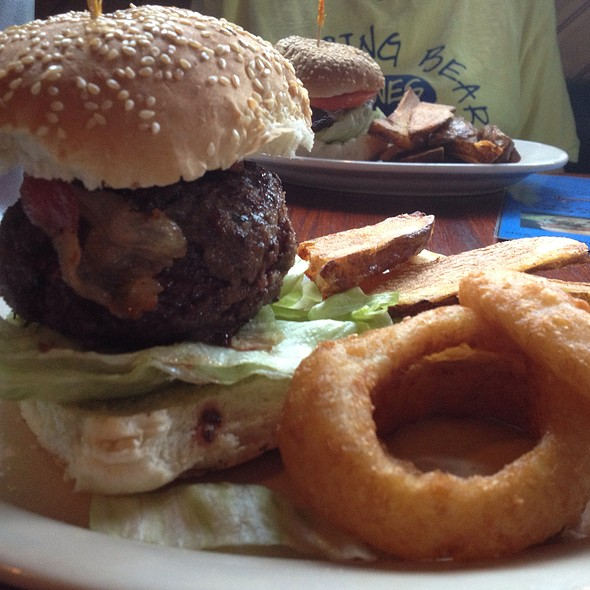 Out Of The Blu Burger @ R F O'Sullivans