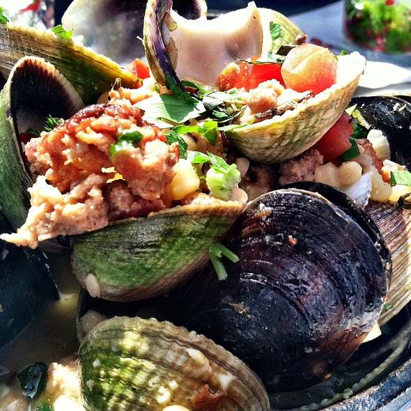 Steamed Baby Clams And Black Mussels - The Lobster, Santa Monica, CA