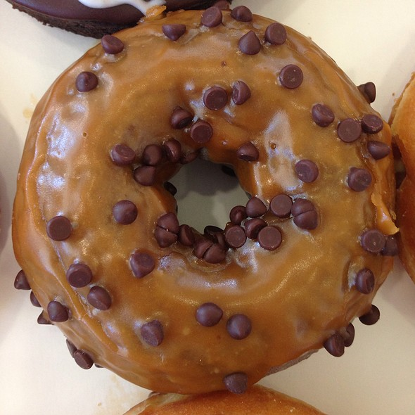 Caramel Chocolate Donut