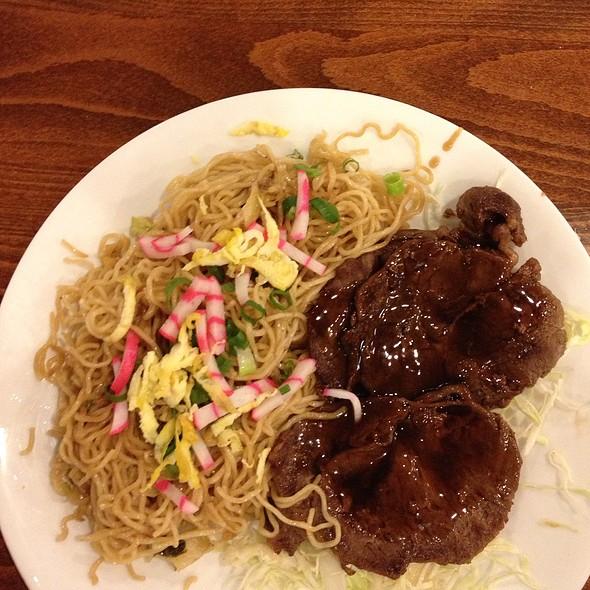 Fried Saimin With Teri Beef