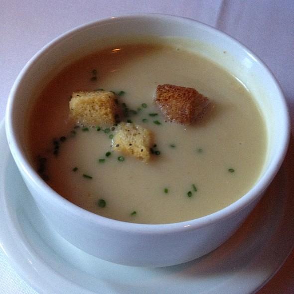 Cup Of Purée Of Artichoke Soup - John Bentley's - Redwood City, Redwood City, CA