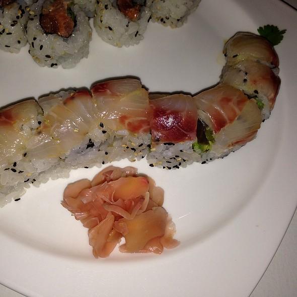 Jimmai Sea Bass Roll - Friends Sushi on Rush, Chicago, IL