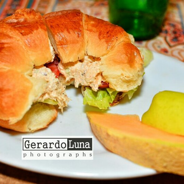 Chicken Salad Croissant @ Denoel French Pastry Shop
