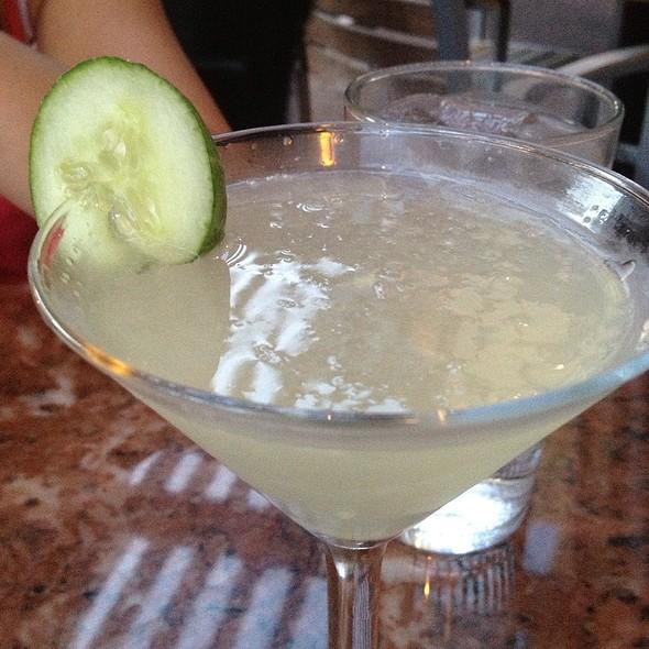 Cucumber Martini - Artin's American Grill, Plano, TX