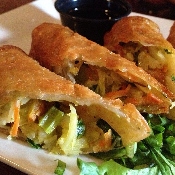 Vegetable Spring Rolls - McCoole's Red Lion Inn, Quakertown, PA