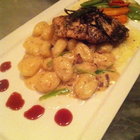 Rockfish Special With Prosciutto Gnocci - Pierpoint Restaurant, Baltimore, MD