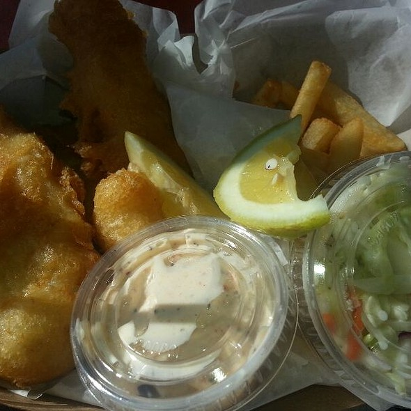 Ahi Pocket @ Spencer Makenzie's Fish Company