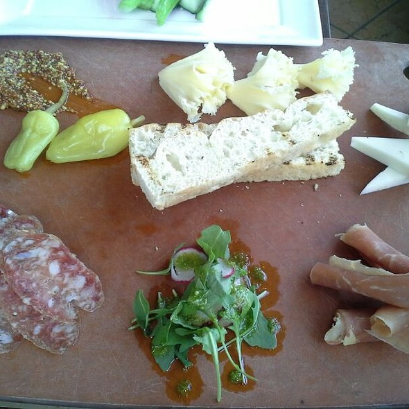 Cheese and Charcuterie - Arterra, San Diego, CA