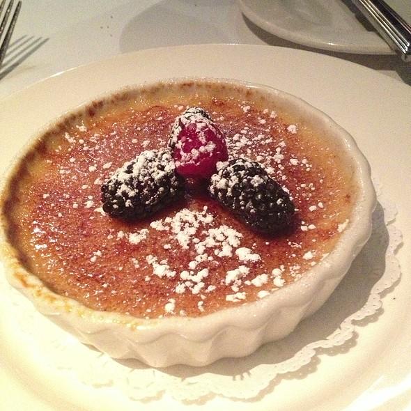 Crème brullée - Chandlers Steakhouse