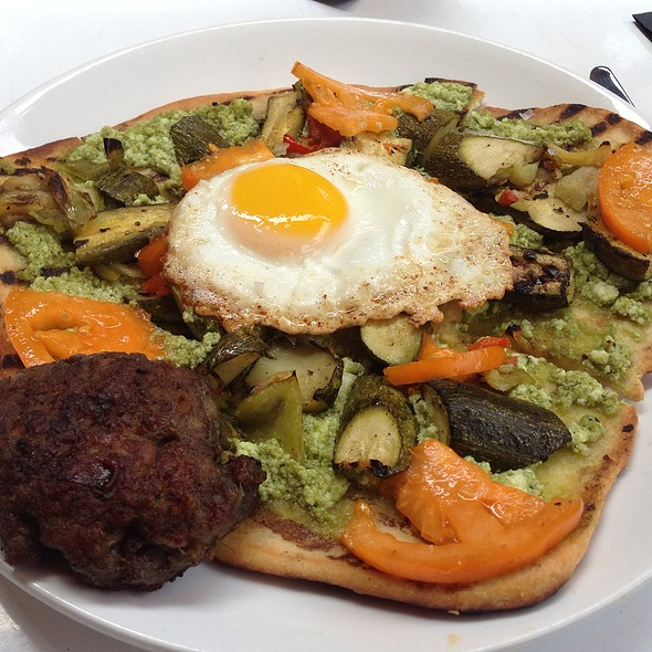 Summer Breakfast Flatbread