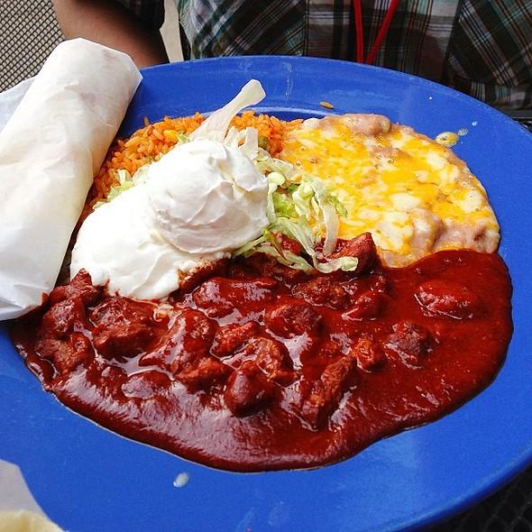 Pork Chile Colorado @ El Chanate