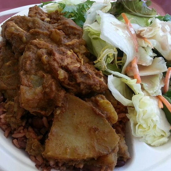 Caribbean Chicken Curry @ Cafe Connection