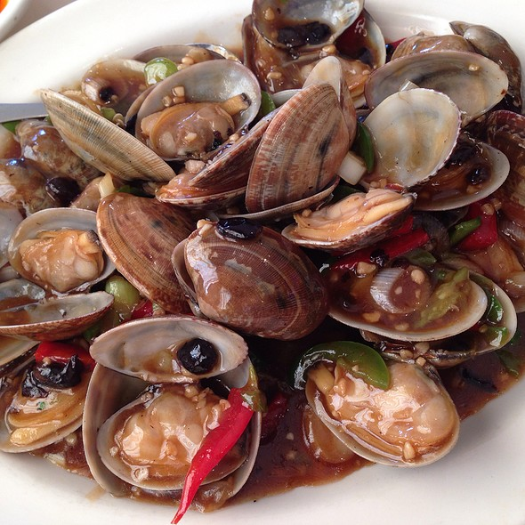Clams with Black Bean Sauce @ Fortune Chinese Restaurant