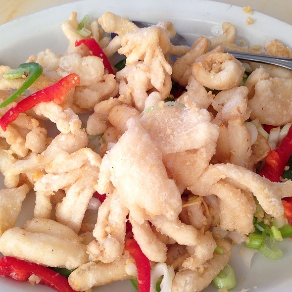 Salt and Pepper Squid @ Fortune Chinese Restaurant