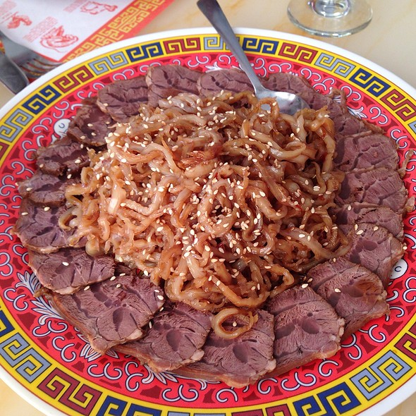 Jellyfish With Sliced Beef @ Fortune Chinese Restaurant