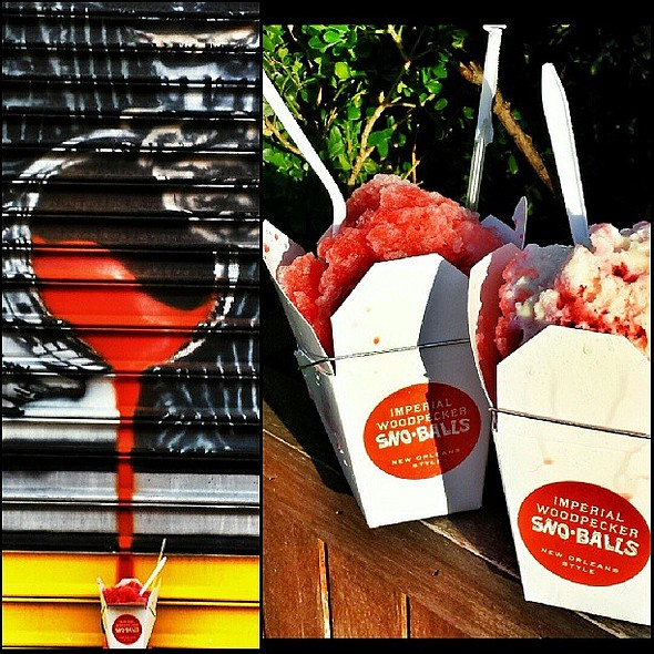 System Cool Down Initiated. @ Imperial Woodpecker Sno-Balls