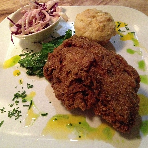 fried chicken @ Aft Kitchen & Bar