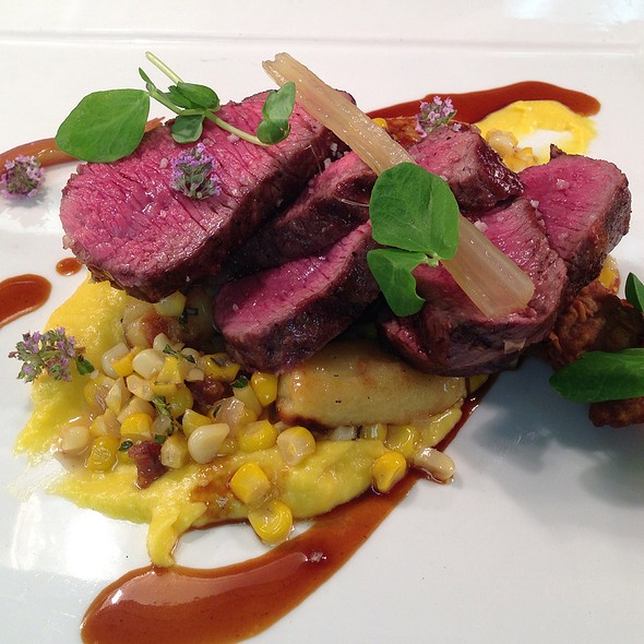 Lamb Loin With Sweetbreads - Grouse Mountain Grill, Beaver Creek, CO