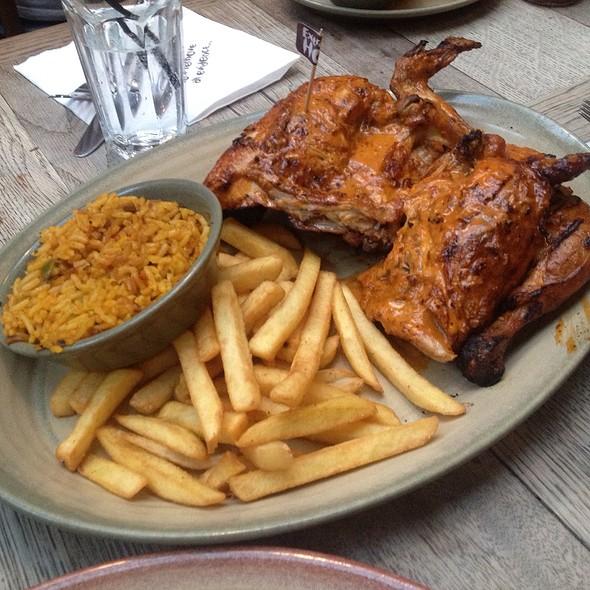 Nando's Chicken Platter @ Nando's