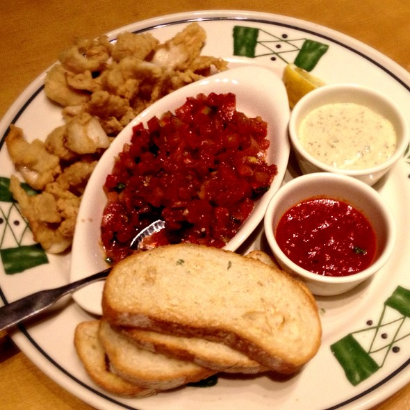 Bruschetta And Calamari @ Olive Garden