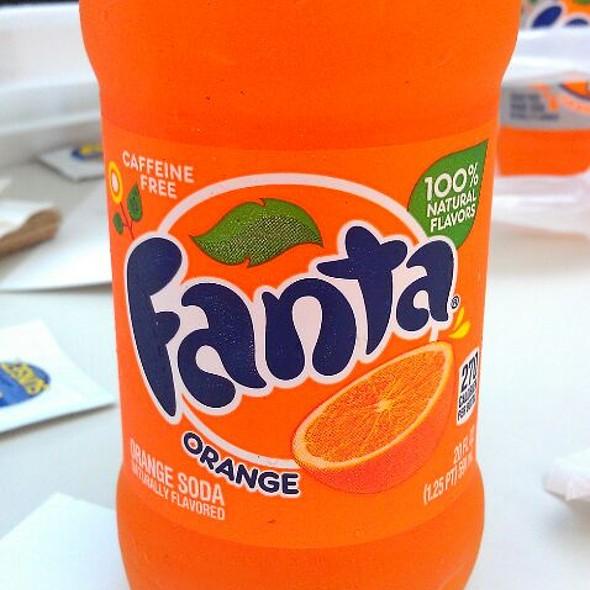 Orange Fanta  @ Ty's House