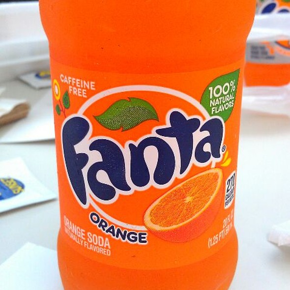 Orange Fanta  @ Ty's House