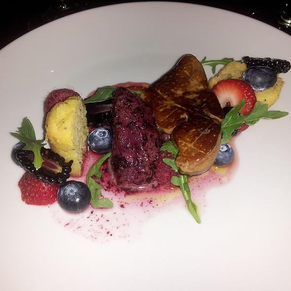 Foie Gras wtih berries @ Brasserie 28