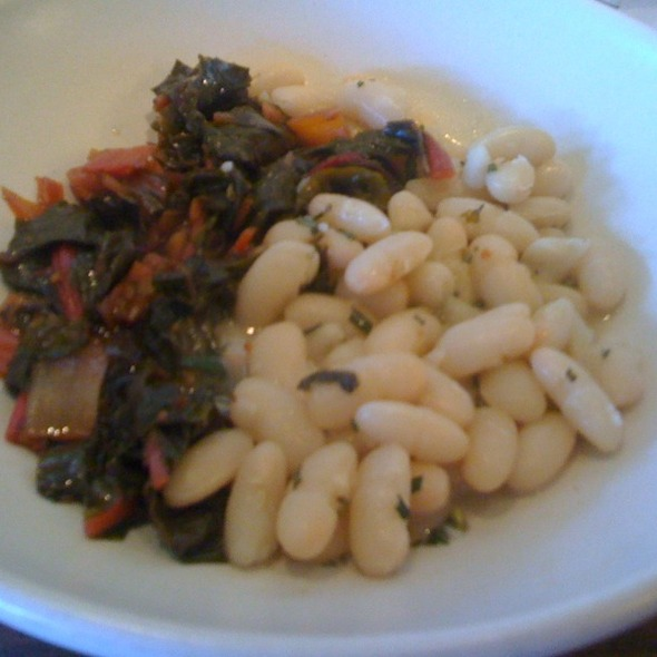 Beans and greens @ Osteria Stellina