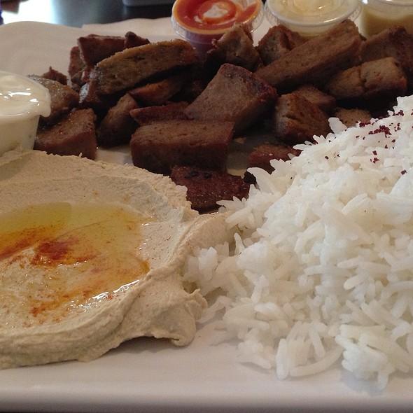 Gyro Platter @ Cafe Layal Mediterranean Cafe