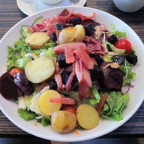 Bacon & Black Pudding Salad @ Moka