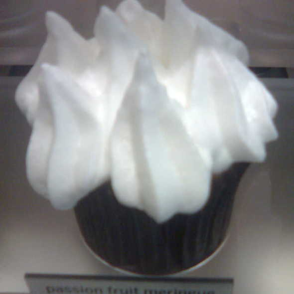 Passion Fruit Meringue Cupcake @ More