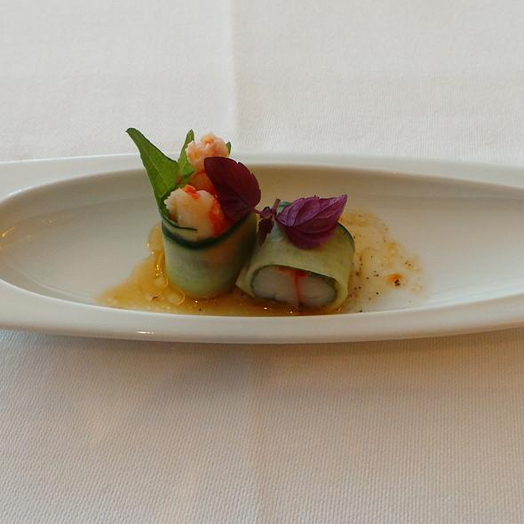 Shrimp, Cucumber @ Nagaya