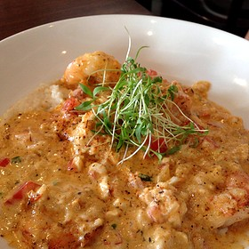 Shrimp & Grits - The Tasting Room - CITYCENTRE, Houston, TX