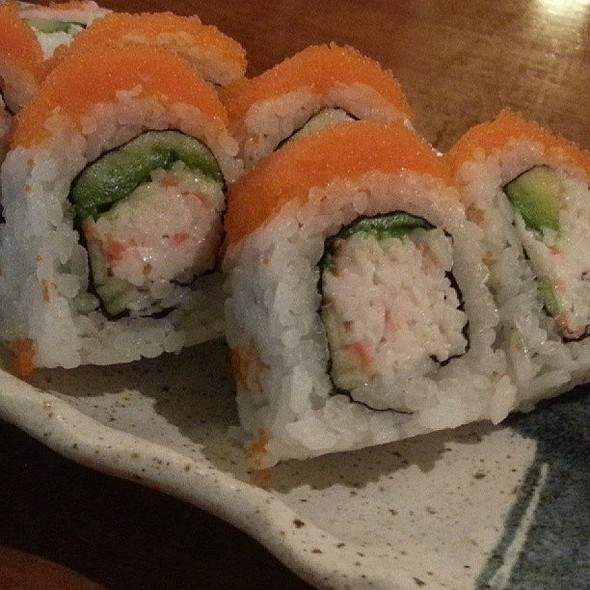 Special California Roll. @ Sushi Camp