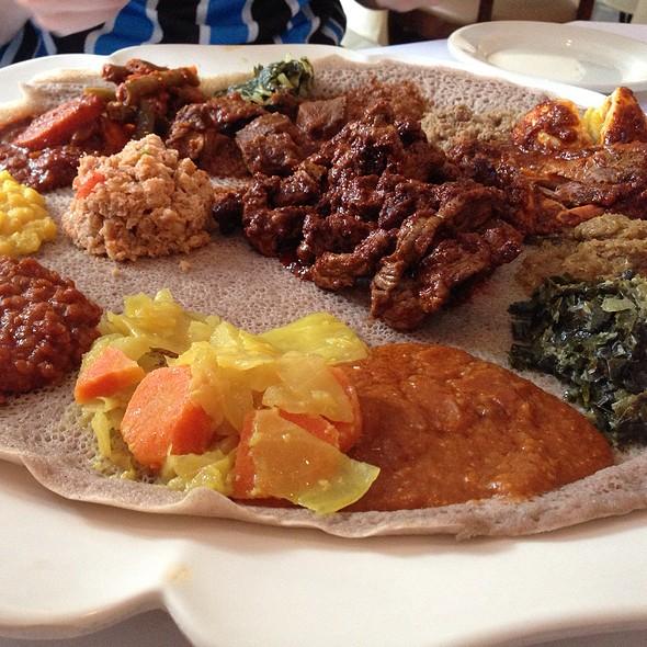 Combo Platter - Das Ethiopian - Georgetown, Washington, DC