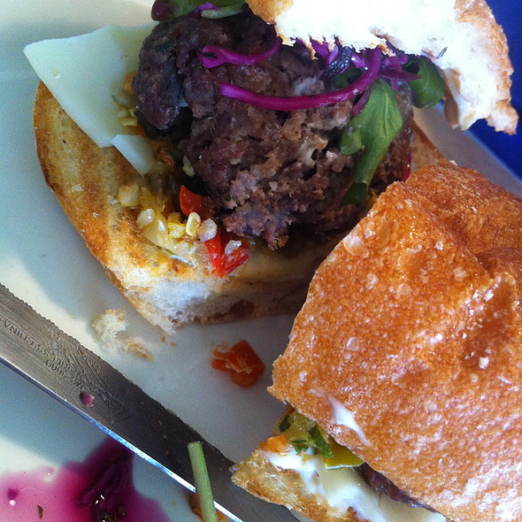 Meatball Sandwich @ Happy Gillis Cafe & Hang Out