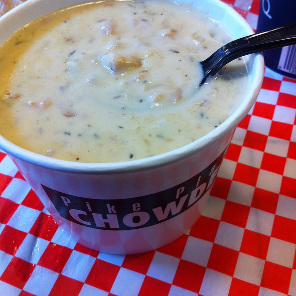 New England Clam Chowder @ Pike Place Chowder - Pike Place Market