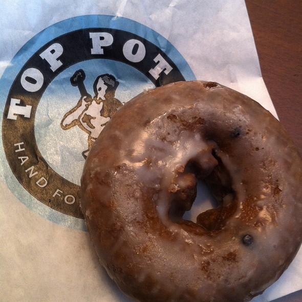 Blueberry Donut @ Top Pots Doughnuts