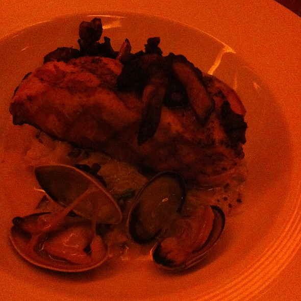Salmon with Manila Clams @ Ray's Boathouse Restaurant & Catering