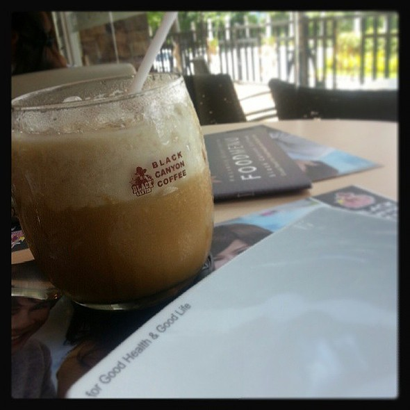 Black Canyon Iced Coffee @ Black Canyon Coffee